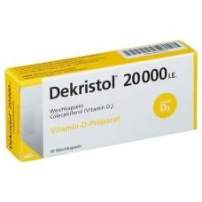 DEKRISTOL 20.000 I.E. Weichkapseln 50 St