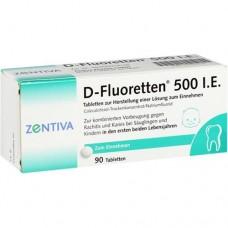 D FLUORETTEN 500 Tabletten 90 St