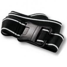 ACCU CHEK Spirit/D Tron Sportgurt schwarz weiß 1 St