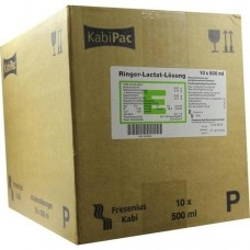 RINGER LACTAT Lösung Plastik Infusionslösung 10X500 ml