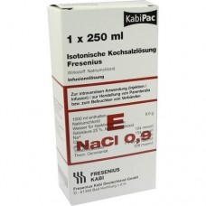 KOCHSALZLÖSUNG 0,9% Plastikfl.Fresenius 250 ml