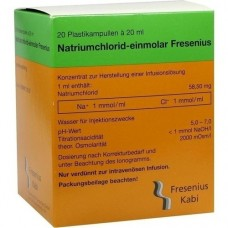 NATRIUMCHLORID-einmol.Fresenius PE-Amp.Inf.-L.-K. 20X20 ml