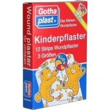GOTHAPLAST Kinderpflaster Strips 12 St