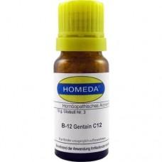 HOMEDA Gentain C 12 Globuli 10 g