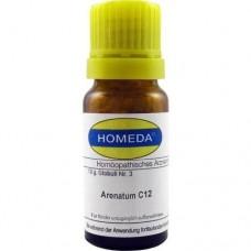 HOMEDA Arenatum C 12 Globuli 10 g