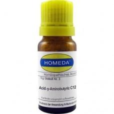 HOMEDA Acidum Y-Aminobutyric C 12 Globuli 10 g