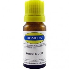 HOMEDA Molaren 36L C 12 Globuli 10 g