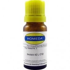 HOMEDA Incisivi 42L C 12 Globuli 10 g