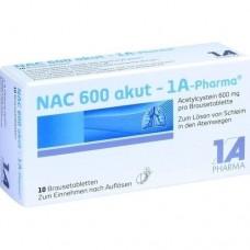 NAC 600 akut Pharma Brausetabletten 10 St