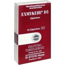 EXMYKEHL D 3 Suppositorien 10 St