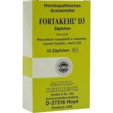 FORTAKEHL D 3 Suppositorien 10 St