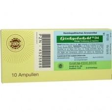 GINKGOBAKEHL D 4 Ampullen 10X2 ml