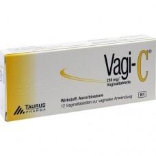 VAGI C Vaginaltabletten 12 St