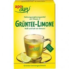 APODAY Limone Vitamin C+Grüntee-Extrakt Pulver 10X10 g