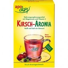 APODAY Kirsch Magnesium+Vitamin C Pulver 10X10 g