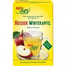 APODAY heißer Winterapfel Vitamin C Pulver 10X10 g