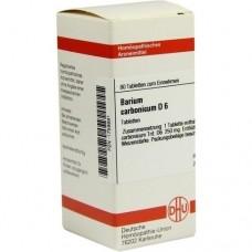BARIUM CARBONICUM D 6 Tabletten 80 St