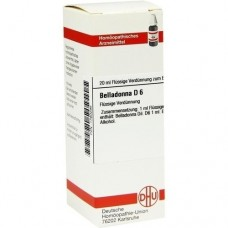 BELLADONNA D 6 Dilution 20 ml