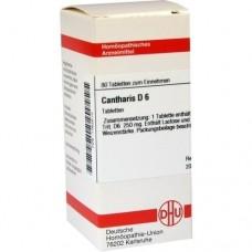 CANTHARIS D 6 Tabletten 80 St
