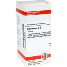CINNABARIS D 6 Tabletten 80 St