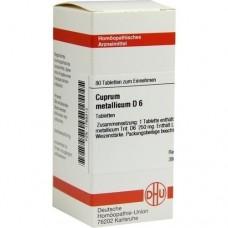 CUPRUM METALLICUM D 6 Tabletten 80 St