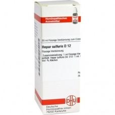 HEPAR SULFURIS D 12 Dilution 20 ml
