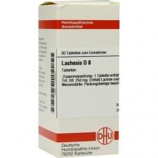 LACHESIS D 8 Tabletten 80 St