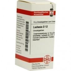 LACHESIS D 12 Globuli 10 g