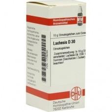 LACHESIS D 30 Globuli 10 g