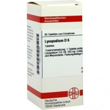 LYCOPODIUM D 6 Tabletten 80 St