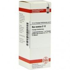 NUX VOMICA D 12 Dilution 20 ml