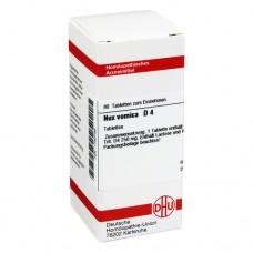 NUX VOMICA D 4 Tabletten 80 St