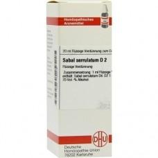 SABAL SERRULATUM D 2 Dilution 20 ml