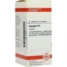 SPONGIA D 6 Tabletten 80 St