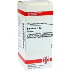 LACHESIS D 12 Tabletten 80 St