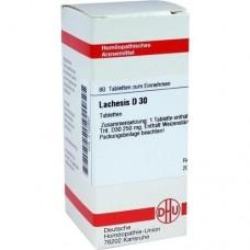 LACHESIS D 30 Tabletten 80 St