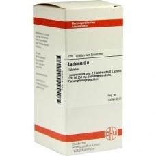 LACHESIS D 6 Tabletten 200 St