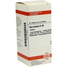 NUX VOMICA D 30 Tabletten 80 St