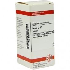 SEPIA D 12 Tabletten 80 St