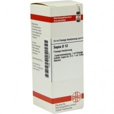 SEPIA D 12 Dilution 20 ml