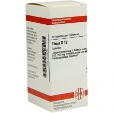 THUJA D 12 Tabletten 80 St