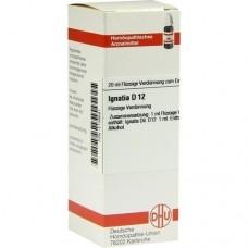 IGNATIA D 12 Dilution 20 ml