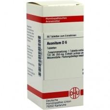 ACONITUM D 6 Tabletten 80 St