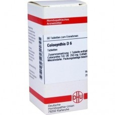 COLOCYNTHIS D 6 Tabletten 80 St