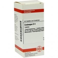 CRATAEGUS D 4 Tabletten 80 St