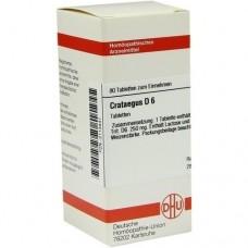 CRATAEGUS D 6 Tabletten 80 St
