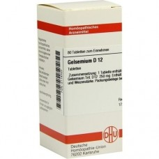 GELSEMIUM D 12 Tabletten 80 St