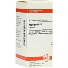 ACONITUM D 12 Tabletten 80 St