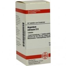 ARGENTUM NITRICUM D 8 Tabletten 80 St