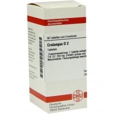 CRATAEGUS D 2 Tabletten 80 St